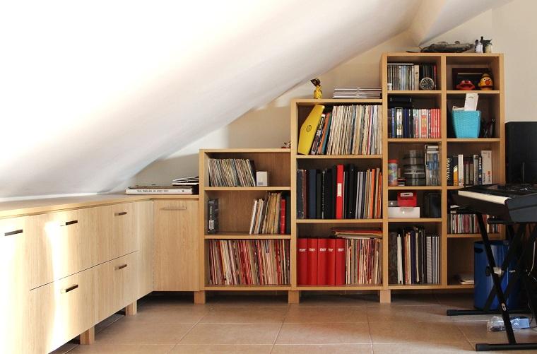 Proyectos decoraci n valencia en buhardilla mobiliario a medida - Mobiliario a medida ...